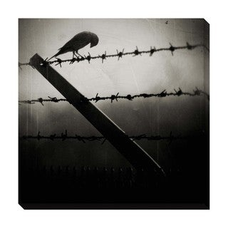 Gallery Direct Bird on a Wire Oversized Gallery Wrapped Canvas