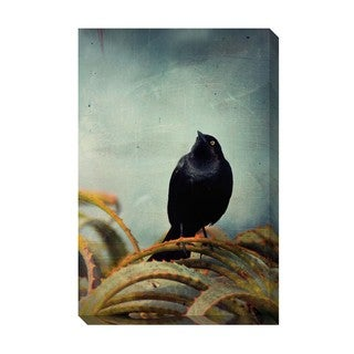 Gallery Direct Blackbird II Oversized Gallery Wrapped Canvas