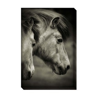 Gallery Direct Majestic Horses Oversized Gallery Wrapped Canvas