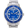 Izod Men's Stainless Steel Blue Dial Watch