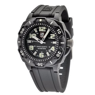 Luminox Men's Sentry Black Stainless Steel Watch