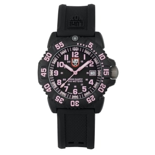Luminox Women's Pink Navy SEAL EVO Colormark Watch