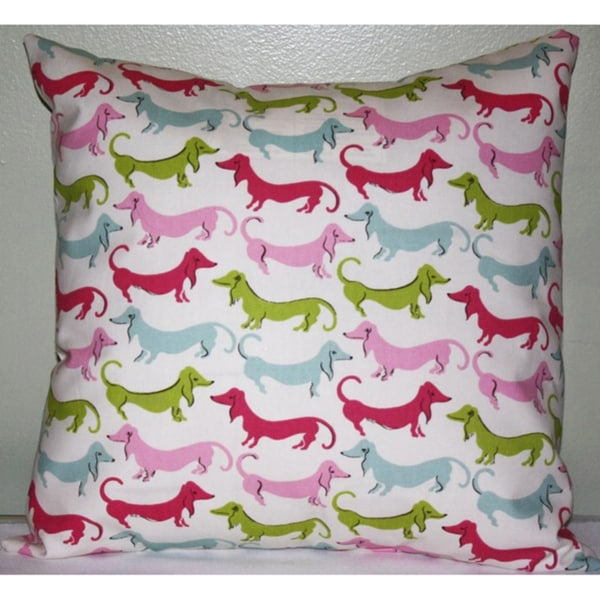 Taylor Marie Hot Diggity Dog Pillow Cover