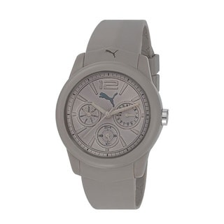 Puma Men's Motor Grey Plastic Quartz Watch