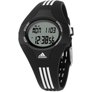 Adidas Women's Response Black Resin Quartz Watch with Digital Dial