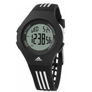 Adidas Men's 'Furano' Black Plastic Digital Watch