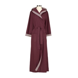 Chic Organic Plum Bathrobe