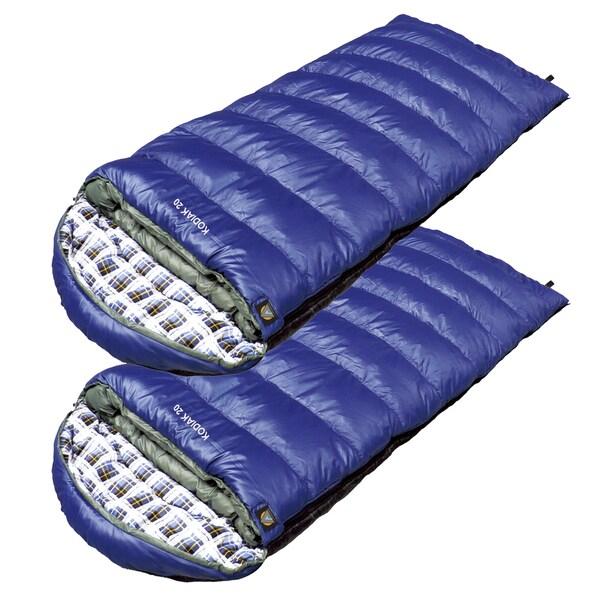 Alpinizmo by High Peak USA Kodiak 20 Sleeping Bag (Set of 2)