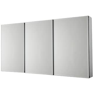 Beveled Mirror 3-Door Medicine Cabinet