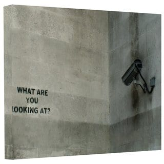Banksy  'CCTV Camera' Gallery-wrapped Canvas