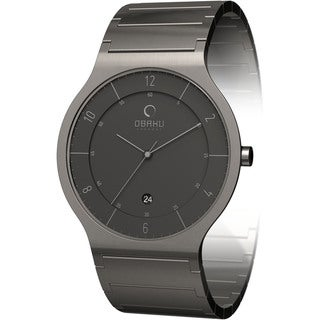 Obaku Women's Grey Dial Stainless Steel Quartz Watch