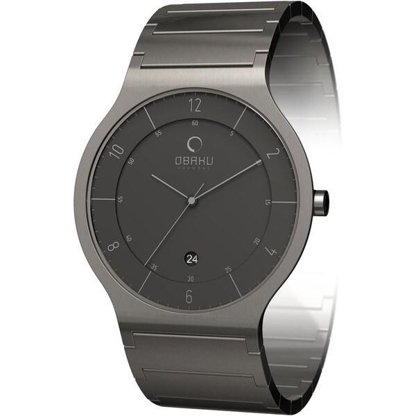 Obaku Women's Grey Dial Stainless Steel Quartz Watch