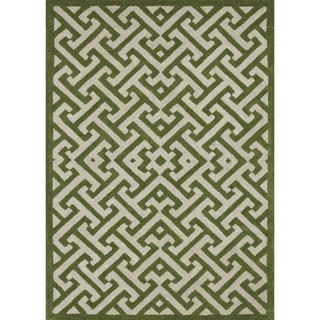 Hand-tufted Logan Lawn Wool Rug (9'3 x 13')