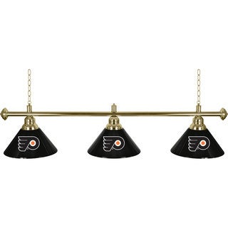 NHL Philadelphia Flyers 60-inch 3 Shade Billiard Lamp