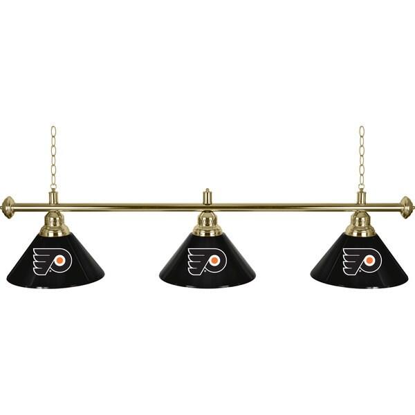 NHL Philadelphia Flyers 60-inch 3 Shade Billiard Lamp