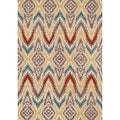 Hand-tufted Arianna Ivory/ Light Gold Wool Rug (7'10 x 11'0)
