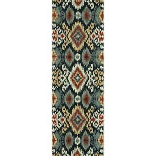Hand-tufted Arianna Midnight Wool Rug (2&#39;6 x 7&#39;6)