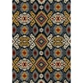 Hand-tufted Arianna Midnight Wool Rug (7'10 x 11'0)