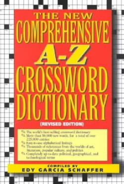 The New Comprehensive A-Z Crossword Dictionary (Hardcover)