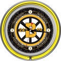 NHL Vintage Boston Bruins Neon Clock 14 inch Diameter