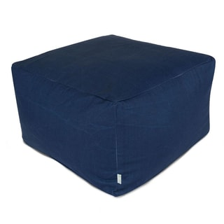 Majestic Home Goods Solid Large Ottoman