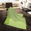 angelo:HOME Woven Stripe Parrot Throw