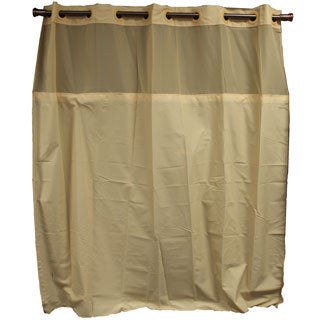 Hookless Yellow Shower Curtain