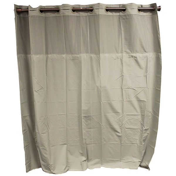 Hookless Sage Green Shower Curtain