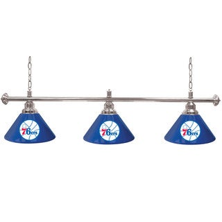 Philadelphia 76ers 60-inch NBA 3 Shade Billiard Lamp