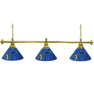 Utah Jazz NBA 3 Shade Billiard Lamp