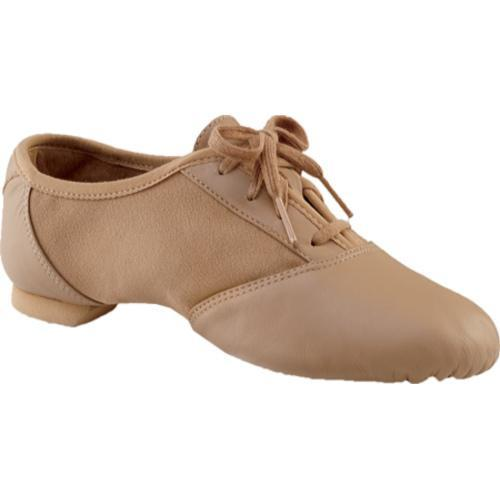 Women's Capezio Dance Jazz Mix-Lo Caramel