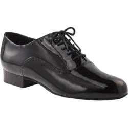Men's Capezio Dance Standard Oxford BR02P Black Patent