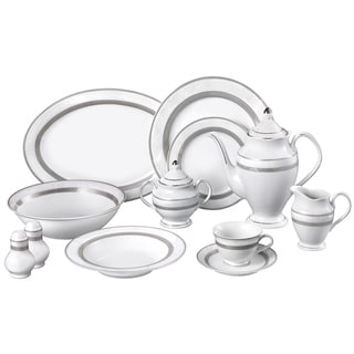 Palma Porcelain 49-piece Dinnerware Set