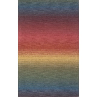 Rainbow Stripe Indoor Rug (8'x10')