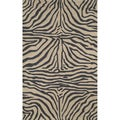 'Skin' Animal Print UV Stabilized Outdoor Rug (7'6 x 9'6)