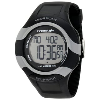 Freestyle Men's Black Silicone Digital Sports Watch
