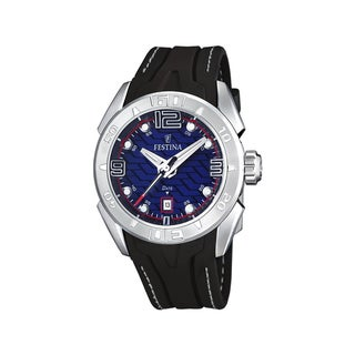 Festina Men's Sport Black/ Blue Quartz Watch