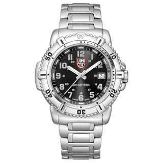 Luminox Women's Stainless Steel Black Dial Watch
