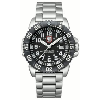 Luminox Men's 'Navy SEAL Colormark' Black Dial Steel Watch