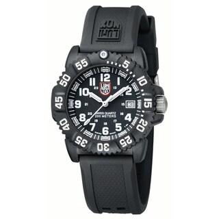 Luminox Women's 'Evo' Navy SEAL Black Swiss Quartz Watch
