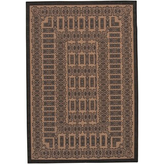 Power Loomed Recife Tamworth Cocoa Rug (5'3 x 7'6)