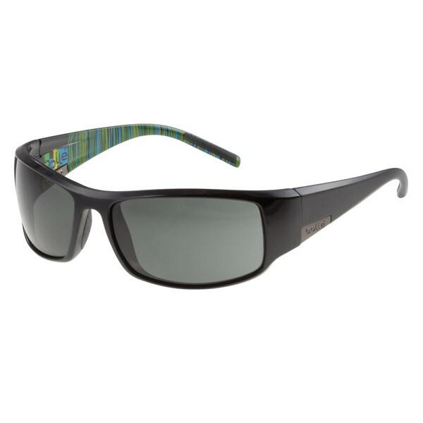 Bolle Men's King Shiny Black Sport Sunglasses