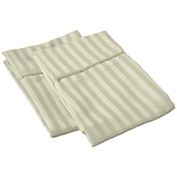 Microfiber Stripe Pillowcase (Set of 2)