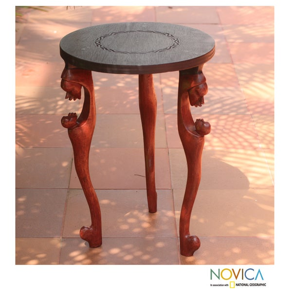 Sese Wood 39 African Mother 39 Accent Table Ghana Overstock Shopping
