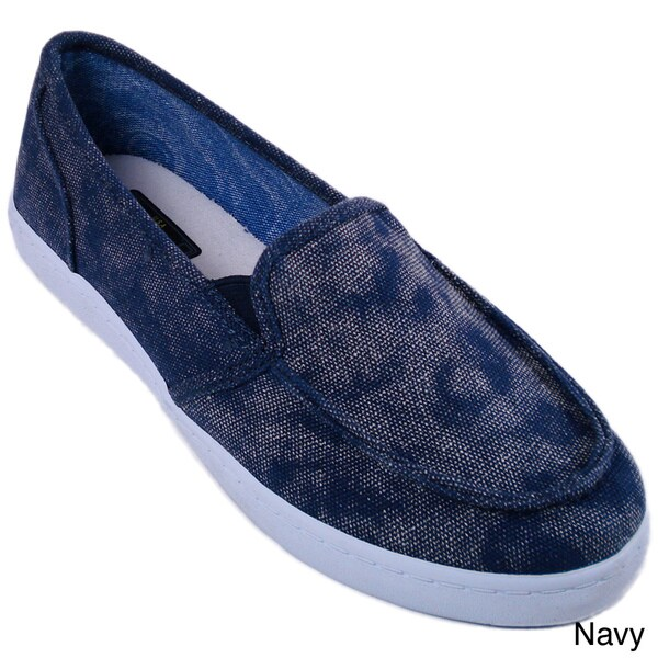 Cruzers Women's 'Slider' Canvas Slip-on Shoes