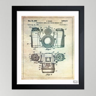 Oliver Gal 'Sauer Photographic Camera, 1962' Framed Print Art