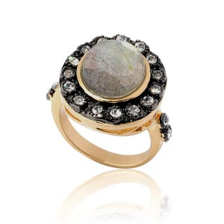 Riccova 14k Goldplated Labradorite Ring