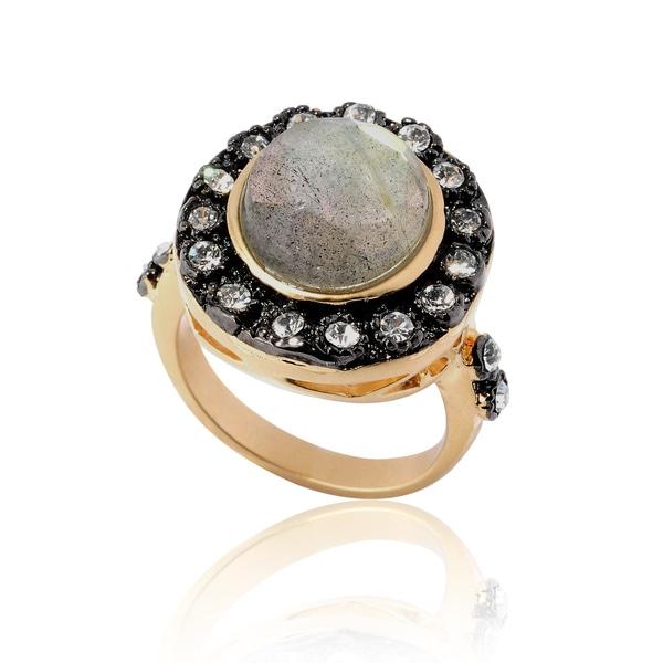 Riccova 14k Goldplated Labradorite Ring