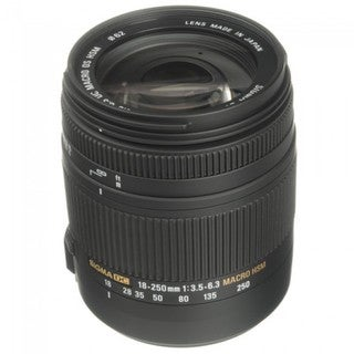 Sigma 18-250mm F3.5-6.3 DC Macro OS HSM for Canon EF Cameras