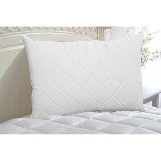 Restonic Down Alternative Support Pillow with Quilted Memory Foam Cover